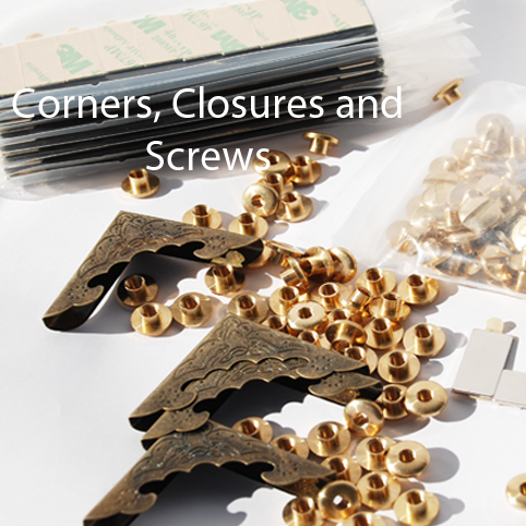 Corners Closures and Screws